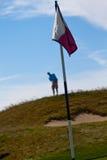 Um jogador de golfe Imagem de Stock Royalty Free