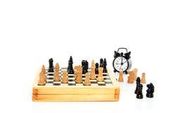 Um jogo da xadrez Fotografia de Stock