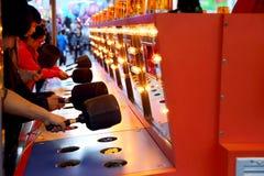 Um jogo dar um tapa em em Fotos de Stock Royalty Free