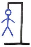 Um jogo do hangman. foto de stock