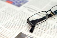 Um jornal fotografia de stock