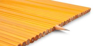 Um lápis afiado Foto de Stock