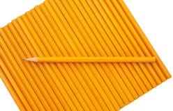 Um lápis afiado Fotografia de Stock