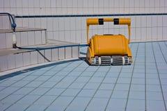 Um líquido de limpeza da água para piscinas de limpeza Fotografia de Stock