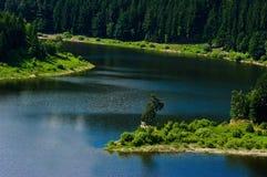 Um lago fotos de stock