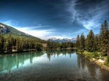 Um lago em Canadá Fotografia de Stock