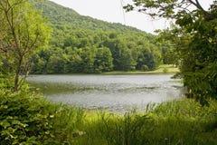 Um lago mountain Fotografia de Stock Royalty Free