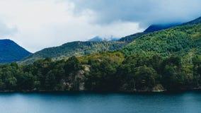 Um lago no patagonia Foto de Stock Royalty Free