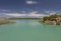 Um lago que o faça relaxar Fotos de Stock Royalty Free