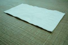 Um lenço de papel Foto de Stock Royalty Free