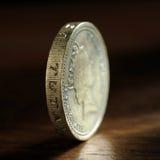 Um libra esterlina Imagem de Stock