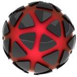 Um logotipo abstrato Imagem de Stock Royalty Free