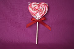 Um Lollipop para o romance Foto de Stock Royalty Free