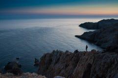 Um lugar bonito em greece Fotografia de Stock Royalty Free