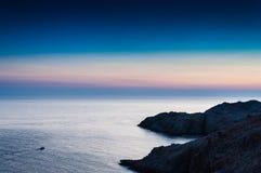 Um lugar bonito em greece Imagens de Stock