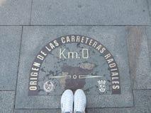 Um lugar bonito - Madri, Espanha imagens de stock royalty free