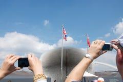 Um mês deixado à expo 2010 do mundo da visita fotografia de stock royalty free