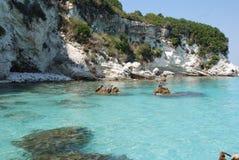 Um mar azul Fotografia de Stock Royalty Free