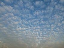 Um mar das nuvens Fotografia de Stock