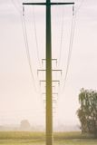 Um mastro aéreo Fotos de Stock