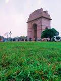 Um memorial de guerra, porta da Índia fotografia de stock