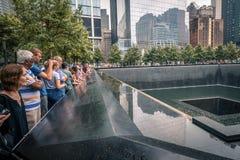 Um memorial do World Trade Center Fotografia de Stock Royalty Free