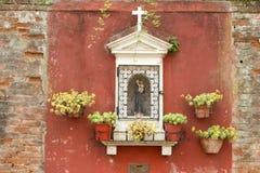 Um memorial religioso a um amado - Veneza Imagem de Stock