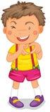 Um menino Imagem de Stock