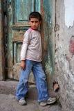 Um menino bonito Fotografia de Stock