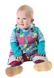 Um menino de sorriso Imagens de Stock Royalty Free