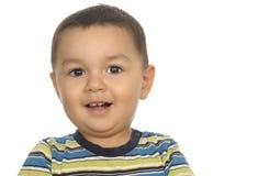 Um menino do hispânico dos anos de idade Fotografia de Stock