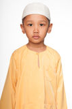 Menino muçulmano bonito Fotografia de Stock