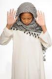 Menino muçulmano Fotos de Stock Royalty Free