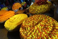 Um mercado colorido em Bangalore, Índia Foto de Stock