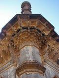 Um minarete de Ibrahim Roza, Bijapur Fotografia de Stock Royalty Free