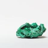 Um mineral da malaquite Fotos de Stock Royalty Free