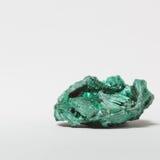 Um mineral da malaquite Imagens de Stock Royalty Free
