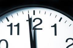 Um minuto a 12 horas Foto de Stock