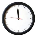 Um minuto a 12 horas Fotografia de Stock