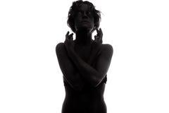 Um modelo de forma fêmea novo Foto de Stock Royalty Free