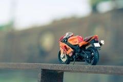 Um modelo de uma bicicleta da rua Fotos de Stock Royalty Free