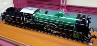 Um modelo do trem imagem de stock