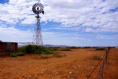 Moinho de vento do interior Fotos de Stock