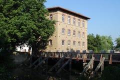 Um moinho velho Fotografia de Stock Royalty Free
