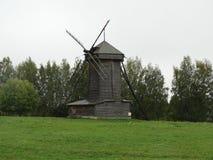 Um moinho velho do russo fotos de stock