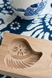 Um molde de madeira imagem de stock royalty free