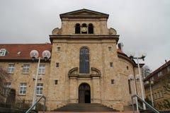 Um monastério Imagem de Stock Royalty Free