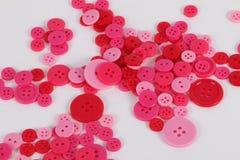 Um montão de botões coloridos Fotos de Stock Royalty Free