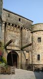 Um Mont Saint Michel Abbey Lizenzfreie Stockfotografie