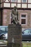 Um monumento do soldado Fotografia de Stock